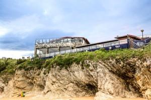 El Penon de Sopelana desde la playa
