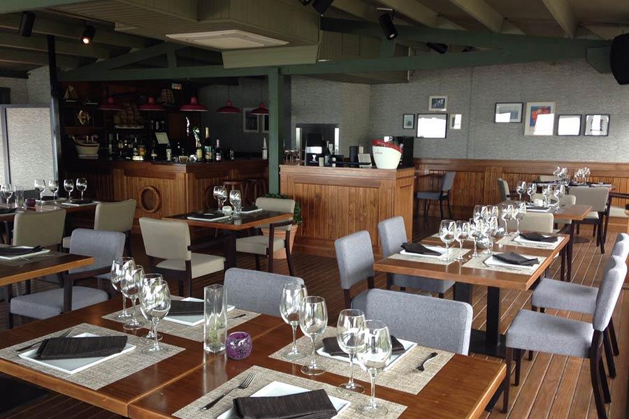 Mesas restaurante penon sope el pe on de sopelana - Restaurante gardoki sopelana ...